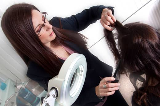 Diagnosing hair loss problems
